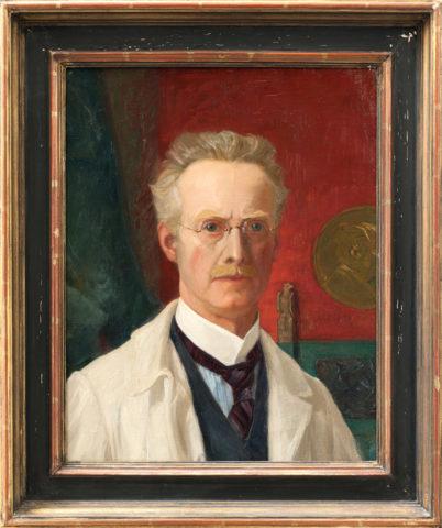 Otto Strandman. Självporträtt, 1930. ©Konstakademien, foto Leif Mattsson